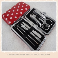 Professional Stainless Steel Nail Clipper Set