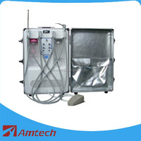 2016 Multi function high quality CE approved portable dental unit/mobile dental unit DB-406 with Oiless Air Compressor Motor