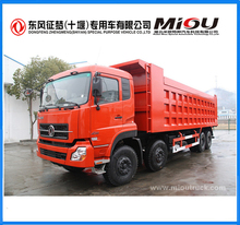 dongfeng trucks Euro3 8X4 350Hp 16T truck tipper for sale