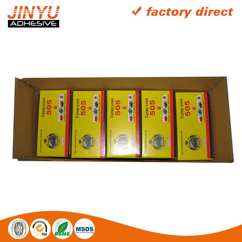Wholesale high viscosity cyanoacrylate adhesive for assembly wood working construction material