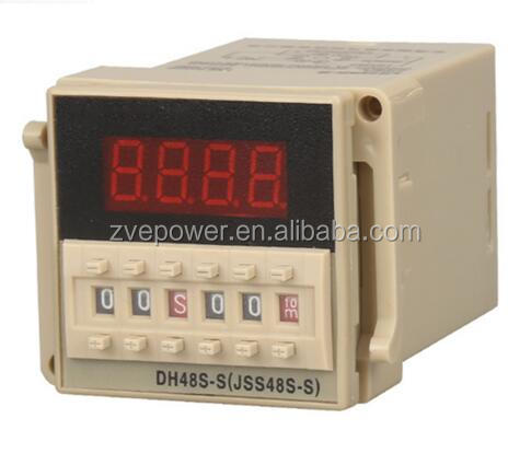 DH48S-2Z Digital Display Double Programmable Time Relay 380V 220V 24V