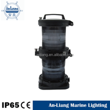 IP56 Waterproof 220V Single-side Red 112.5 Angle 40W FB15 Lamp holder deck led marine navigation lights