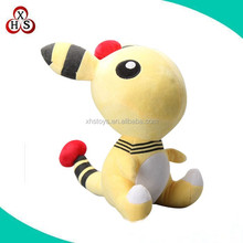 OEM pokemon plush stuffed pokemon Ampharos ,Custom make plush action figures