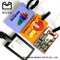 Chinese Supplier Rubber Travelling Luggage Tag