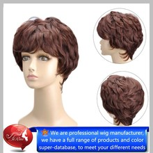 High quality Mohawk Wigs Synthetic, Ombre Synthetic Wig, Highlight Synthetic Wig