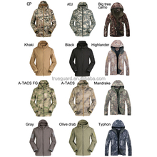 Kryptek typhon u.s. tactical hooded breathalbe waterproof and windproof softshell jacket