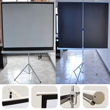 4:3 Tripod Stand Manual Projection Screen manufacturer 120inch
