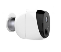 A2 100% Wire-Free HD720p wireless ip camera with battery IP65 weatherproof housing and build in PIR sensor standby for 180 days