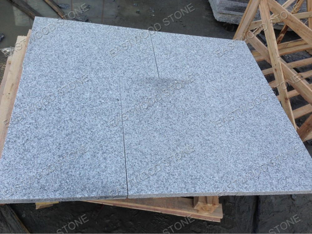Fantasy light grey granite flooring paving tile