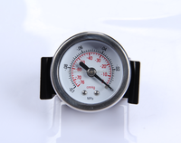 Stainless steel bourdon tube type glycerin filed pressure gauge
