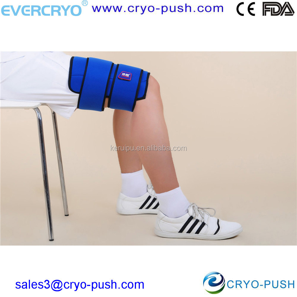 Reusable Hot and Cold Therapy Patch Sports Ice Wraps for Thigh