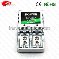 KonGin KC-262a Ni-Mh/Ni-Cd AA/AAA 9V rechargeable battery charger