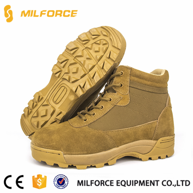 Hot selling motorcycle military sand walking shoes with great price