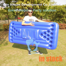 Water play equipment 24-hole beer pong float inflatable mattress