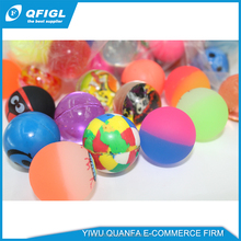 flashing led bouncing ball and lycra gel stress ball tpr water bouncing ball
