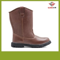 high heel fire resistance brown safety boots