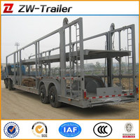 heavy duty vehicle/car carrier semi trailer (skeleton/close-ended/semi-enclosed type optional)