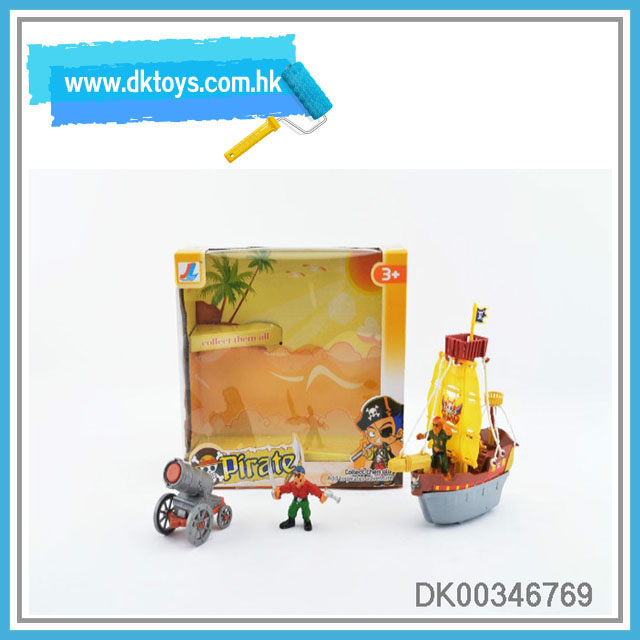 Low Price Toy Cartoon Corsair With Pirate&Cannon Kid's Toy With EN71/ASTM Certificate