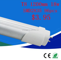 1200mm SMD3528 /2835 T8 led tube lamps made in China