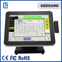 12'' 15'' 17'' pos terminal, lottery terminal with cellular internet connection