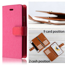 "C&T Leather Flip Purse Wallet Case Cover with ID Holder / Credit Card Slot / Inner Pocket For Apple iPhone 6 4.7"" inch"