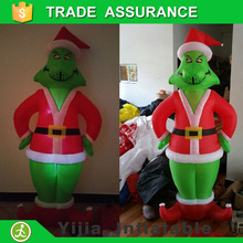 With led light Christmas decoration inflatable grinch