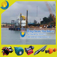 China Low Price Cutter Suction River Sand Dredge for Sale
