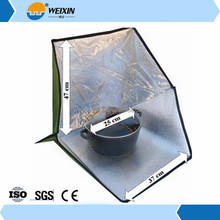 Solar Exhaust Fan Portable Shoulder Bag Solar Oven