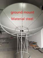China Supplier 3M Ground Mount C Band Satellite Dish Parabolic antenna