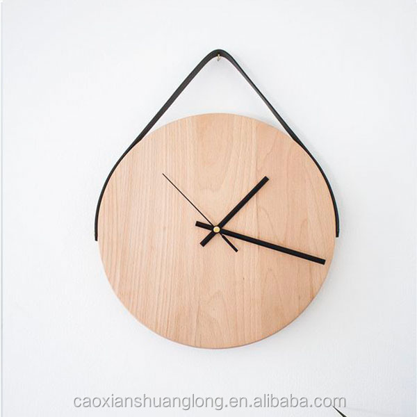 New design Silent Wood Wall Clock for sale