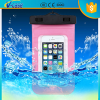 Great Quality PVC Waterproof Bag Case For Xperia M with rope