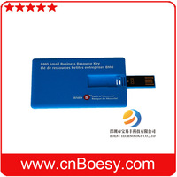 Portable plastic card usb webkey from China big factory.