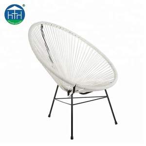 Modern outdoor furniture colorful rattan chair acapulco chair