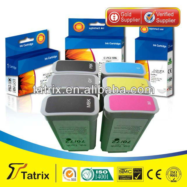 Remanufactured ink cartridges 72 for HP Designjet 2300/T610/ T620/T770