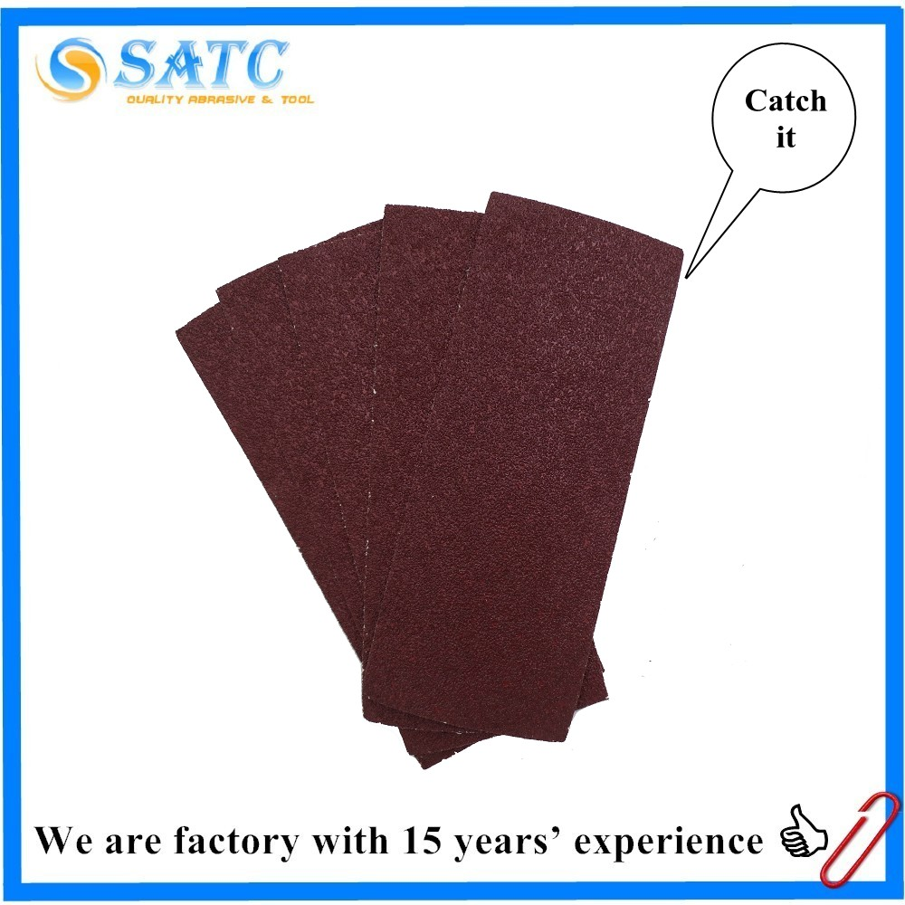 Long lifetime abrasive sheet sanding paper