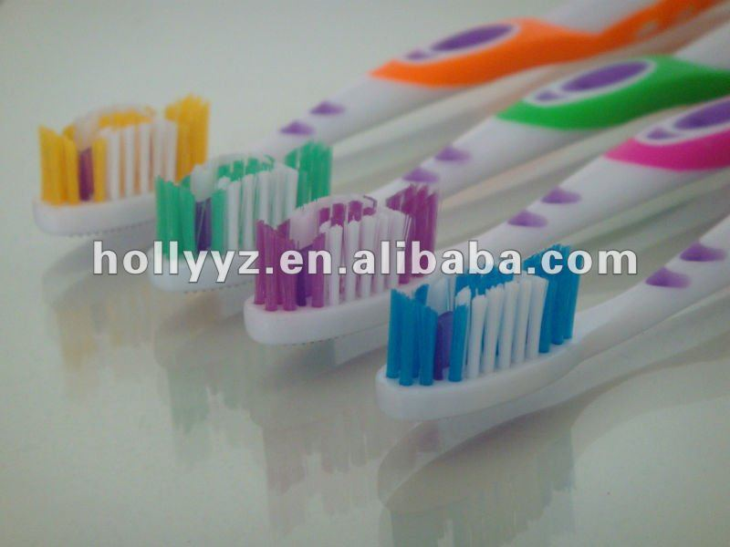Adult Whitening Personal Care Toothbrush with Tongue Cleaner toothbrush