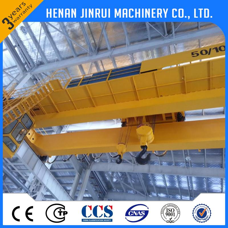 Strong Structure Electric 50 Ton Crane Price