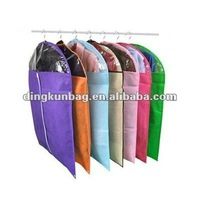 Non Woven Transparent Visual Suit Cover/garment bag