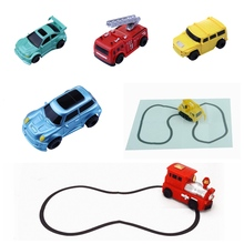 Magic novelty B/O plastic Toy Vehicles Tank inductive car toys truck toys
