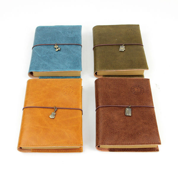 LANGUO factory offer wholesale leather notebook model:FGBB-706
