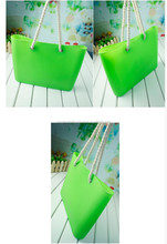 High Quality clear wholesale waterproof ladies rolling tote bag shopping bag