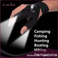 Ourdoor Equipment Camping Riding Hiking luminous fishing LED light gloves