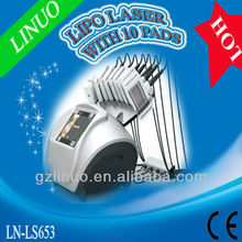 10pads Professional 635nm beco lipo laser ( HOT IN Europe !!!!)