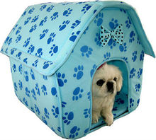 2014 Latest fashion colorful canvas dog house