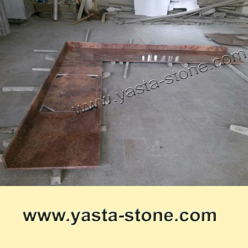 Cheap Juparana Crema Bordeaux Granite Countertop - Buy Bordeaux ...