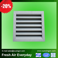 High quality cheap prices HVAC system waterproof aluminum window louver