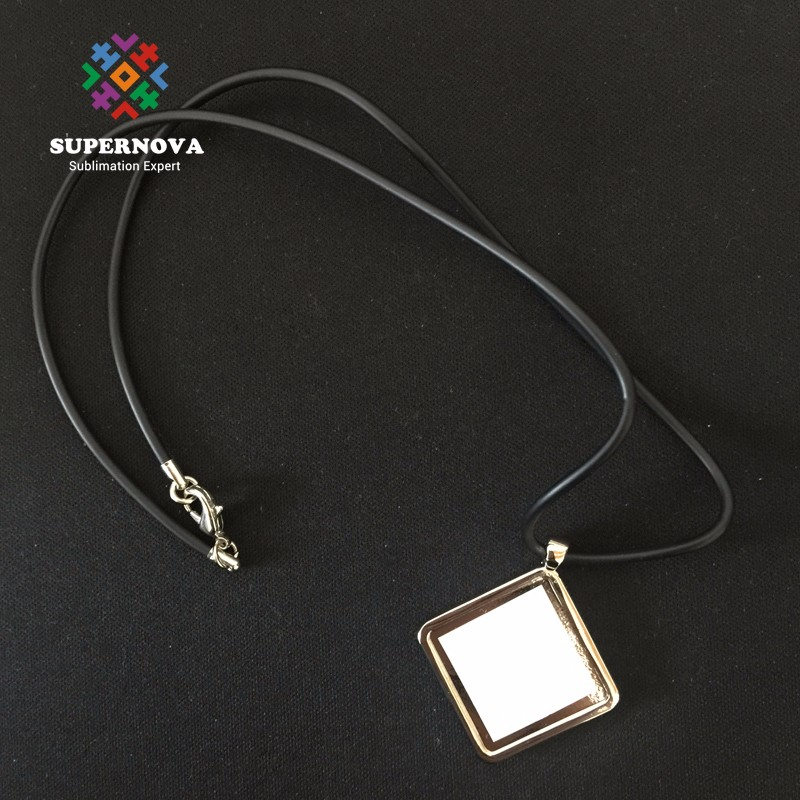2016 Fashion Cheap Round Shape Blank Necklace From China , Sublimation Blank Jewelry Necklace