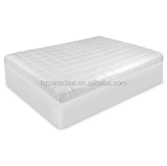 Breathable White Quilted Factory Price Sleep Well Cool Waterproof Mattress Pad - Jozy Mattress | Jozy.net