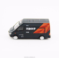 ford toy van in scale 1:87 alloy die cast