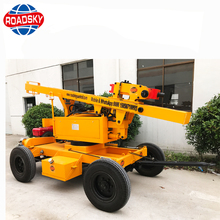 Solar Crawler Hydraulic Pile Driver Machine, Photovoltaic Guardrail Post Pile Driver